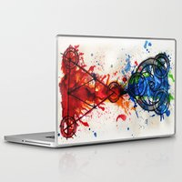 alchemy Laptop & iPad Skins featuring abstract alchemy by Jesse Kerr