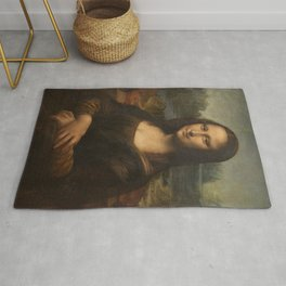 Mona Lisa, Leonardo da Vinci, 1503 Rug