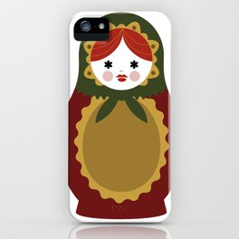 Matrioska-007 iPhone Case