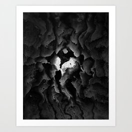 The Ghostheart Art Print