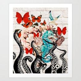 The Garden Of Abundance Art Print
