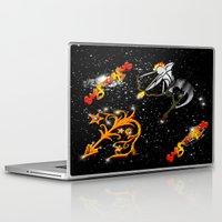astrology Laptop & iPad Skins featuring Sagittarius Astrology Sign by TrinityHawk Photography & Multimedia