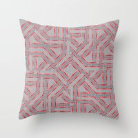 labyrinth Throw Pillows featuring Labyrinth by LoRo  Art & Pictures