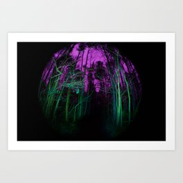 Acidic Art Print