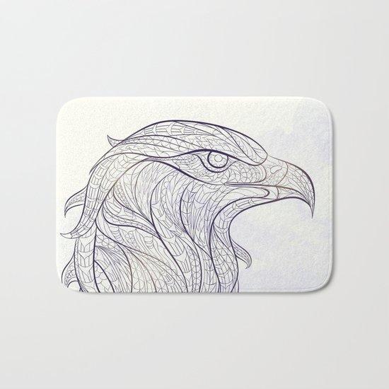 Ethnic Eagle Bath Mat