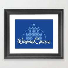 Wrong Castle Framed Art Print