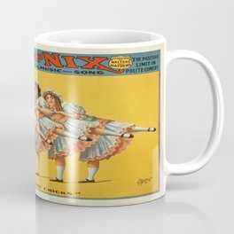 Vintage poster - Hans and Nix Coffee Mug