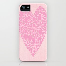 Rose Hearts iPhone Case