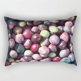 Olive picking Rectangular Pillow