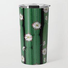 Cacti Cereus with flowers Travel Mug