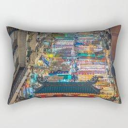 Chinese Market Rectangular Pillow
