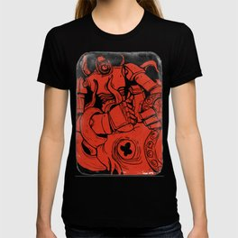 Squid Fight! T-shirt