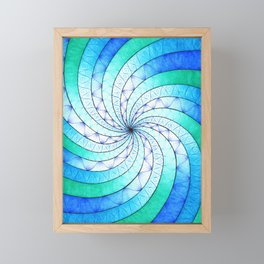 The Vortex Framed Mini Art Print