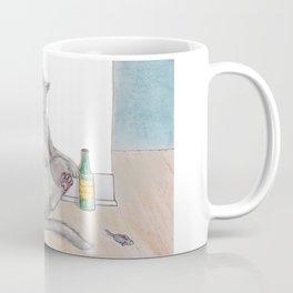 Drunk Kitty Coffee Mug