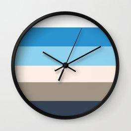 North Coast, palette Wall Clock