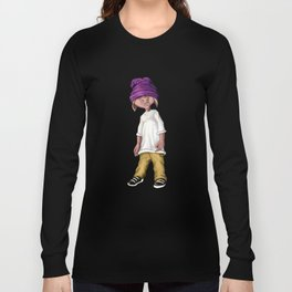 Shorty Hamilton - Adventures of the Eastside Pigs Long Sleeve T-shirt