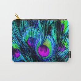 Peacock or Flower 1 Carry-All Pouch