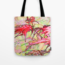 Laceleaf Maple Tote Bag