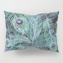 Peacock of Another Color Pillow Sham