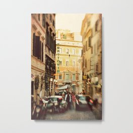 Trattoria Roma  Metal Print