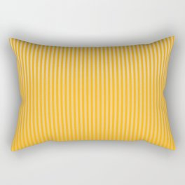 Copper Caramel Stripes Gradient Rectangular Pillow
