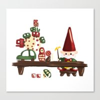 elf Canvas Prints featuring Elf by Erica_art