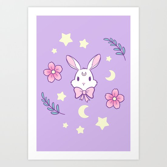 Sakura Bunny // Purple by nikury