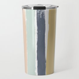 Pastel Stripes Travel Mug
