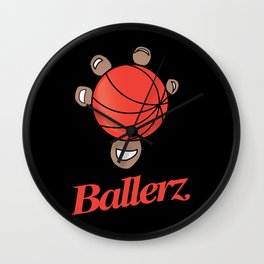 Basket ballerz grip Wall Clock