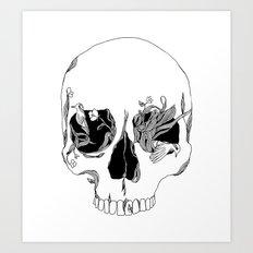 Still Existing Art Print