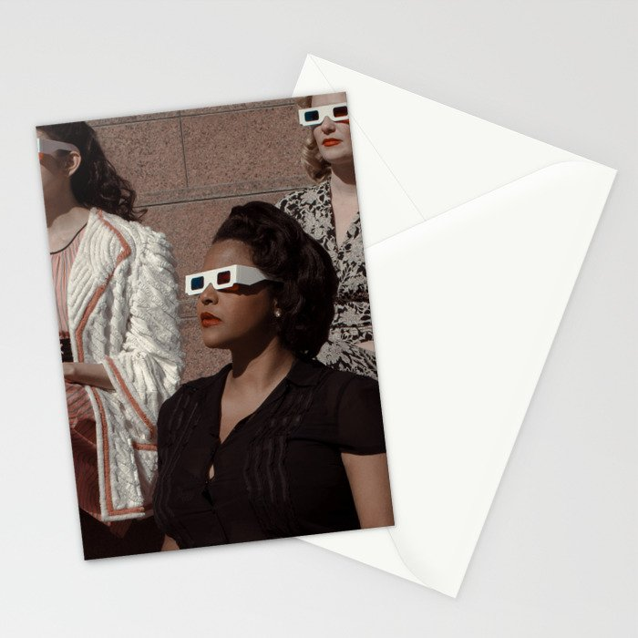 Stereoscopic 2 Stationery Cards