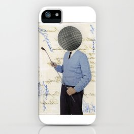 The Golfer iPhone Case