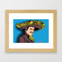 El Rey de la Música Ranchera Framed Art Print