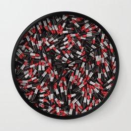 Full of lipsticks Wall Clock
