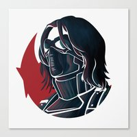 bucky Canvas Prints featuring Bucky by Charleighkat