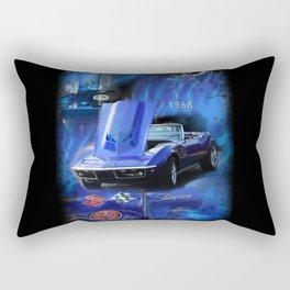 1968 Corvette Stingray Rectangular Pillow