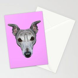 Whippet // Lilac Stationery Cards