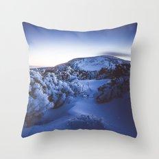 Cold night Throw Pillow