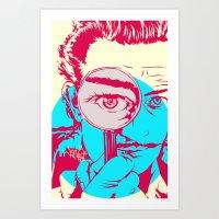 dali Art Prints featuring Dali   by Vee Ladwa