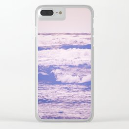 California Girl Beach Clear iPhone Case