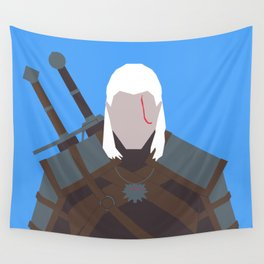 Geralt of Rivia - The Witcher Wall Tapestry