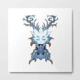 Winter Queen Metal Print