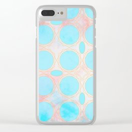 Pattern 3 Light Clear iPhone Case