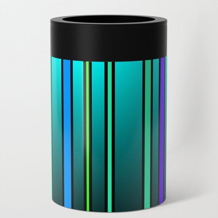 Fresh Blue Can Cooler
