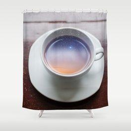 Coffee Magic Shower Curtain