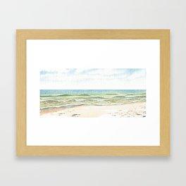 Indian Harbor Beach, Florida Framed Art Print