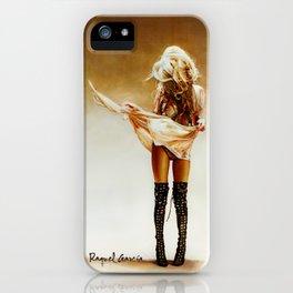 Con faldas y a lo loco! iPhone Case