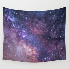 Purple Galaxy Star Travel Wall Tapestry