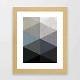 Modern Geometry I Framed Art Print