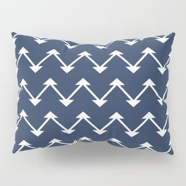 Jute in Navy Blue Pillow Sham